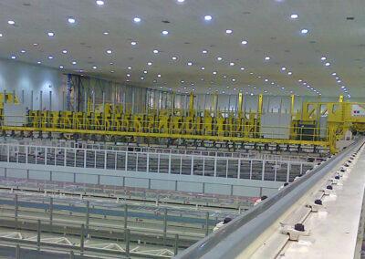 Aeronautical production plant